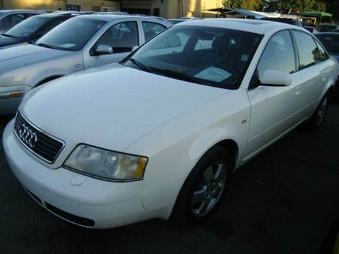 2001 Audi A6 for sale at Crow`s Auto Sales in San Jose CA
