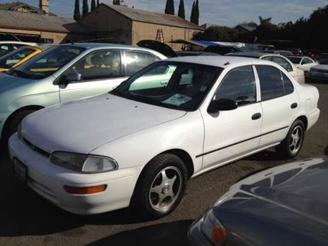 1994 GEO Prizm for sale at Crow`s Auto Sales in San Jose CA
