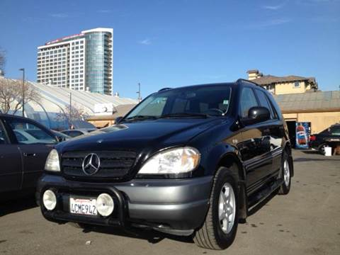 1998 Mercedes-Benz M-Class for sale at Crow`s Auto Sales in San Jose CA