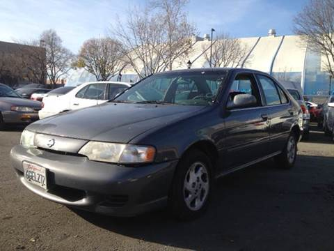 1999 Nissan Sentra for sale at Crow`s Auto Sales in San Jose CA