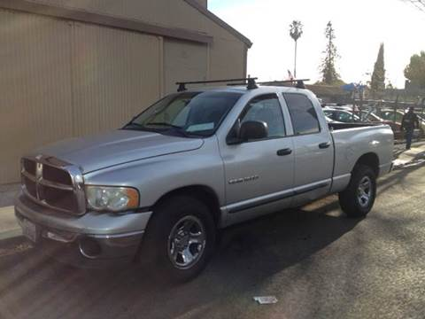 2002 Dodge Ram Pickup 1500 for sale at Crow`s Auto Sales in San Jose CA