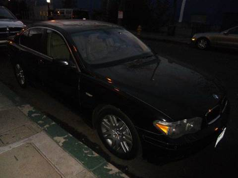 2002 BMW 7 Series for sale at Crow`s Auto Sales in San Jose CA