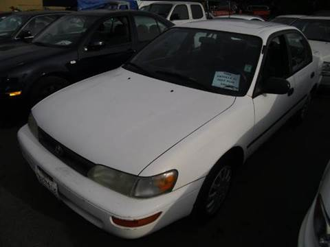 1995 Toyota Corolla for sale at Crow`s Auto Sales in San Jose CA