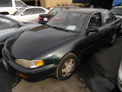 1995 Toyota Camry for sale at Crow`s Auto Sales in San Jose CA