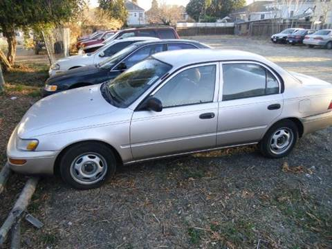 1996 Toyota Corolla for sale at Crow`s Auto Sales in San Jose CA