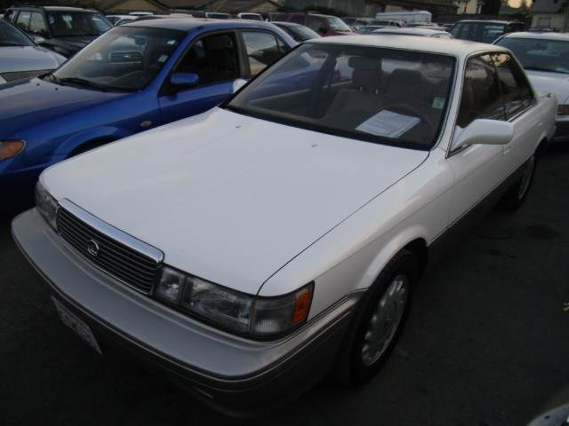 1991 LEXUS ES 250 white 4 doorair conditioningalloy wheelsamfm radioautomatic transmissionc