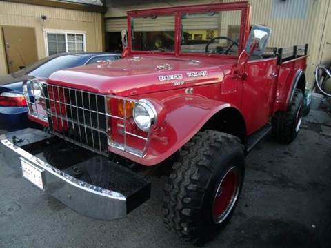 1954 Dodge Power Wagon  for sale at Crow`s Auto Sales in San Jose CA
