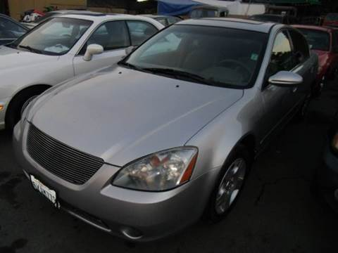 2004 Nissan Altima for sale at Crow`s Auto Sales in San Jose CA