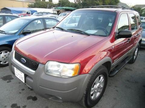 2001 Ford Escape for sale at Crow`s Auto Sales in San Jose CA