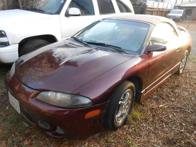 1998 MITSUBISHI ECLIPSE GS SPYDER maroon 0 miles VIN 4A3AX35GXWE012904