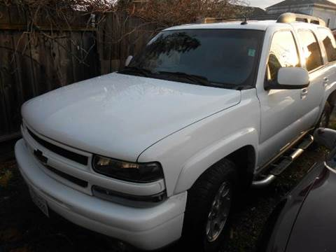 2003 Chevrolet Tahoe for sale at Crow`s Auto Sales in San Jose CA