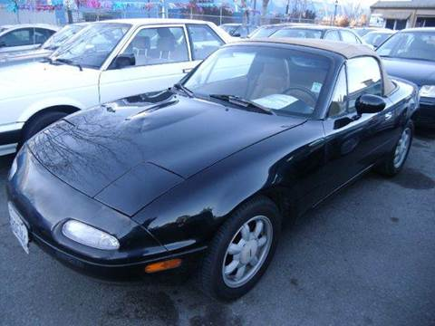 1992 Mazda MX-5 Miata for sale at Crow`s Auto Sales in San Jose CA