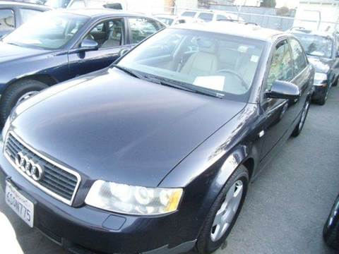 2002 Audi A4 for sale at Crow`s Auto Sales in San Jose CA