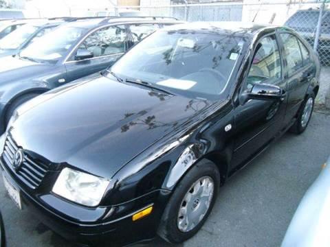 2002 Volkswagen Jetta for sale at Crow`s Auto Sales in San Jose CA