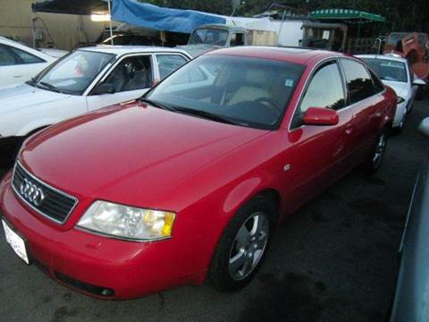 2000 Audi A6 for sale at Crow`s Auto Sales in San Jose CA