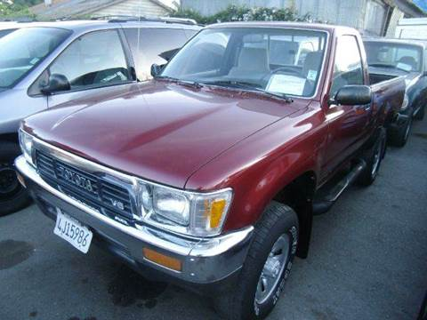 1991 Toyota Pickup for sale at Crow`s Auto Sales in San Jose CA