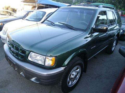2001 Isuzu Rodeo for sale at Crow`s Auto Sales in San Jose CA