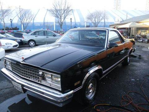 1986 Chevrolet El Camino for sale at Crow`s Auto Sales in San Jose CA