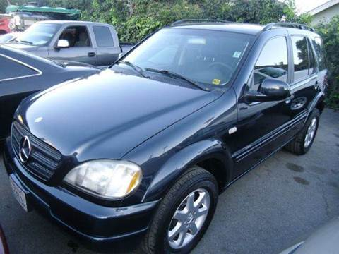 2000 Mercedes-Benz M-Class for sale at Crow`s Auto Sales in San Jose CA