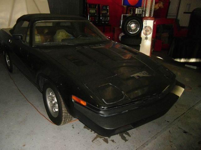 1980 TRIUMPH TR8 black 0 miles VIN T111111111111TRIU
