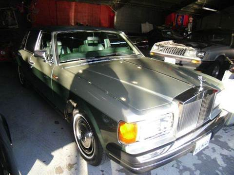 1984 Rolls-Royce Silver Spur for sale at Crow`s Auto Sales in San Jose CA