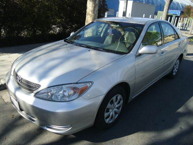 2004 TOYOTA CAMRY LE silver air conditioningamfm radioanti-brake system non-abs  4-wheel abs