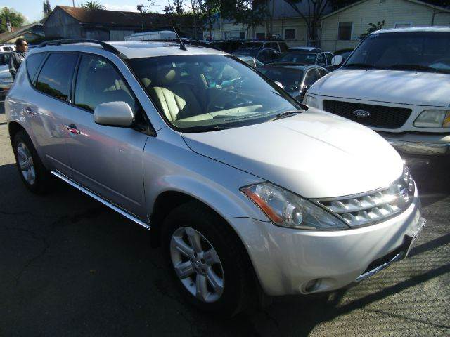 2006 NISSAN MURANO SL AWD silver 4wdawdabs brakesair conditioningalloy wheelsamfm radioant