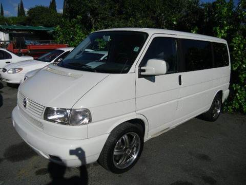 2001 Volkswagen EuroVan for sale at Crow`s Auto Sales in San Jose CA
