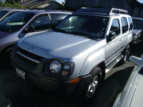2002 Nissan Xterra for sale at Crow`s Auto Sales in San Jose CA