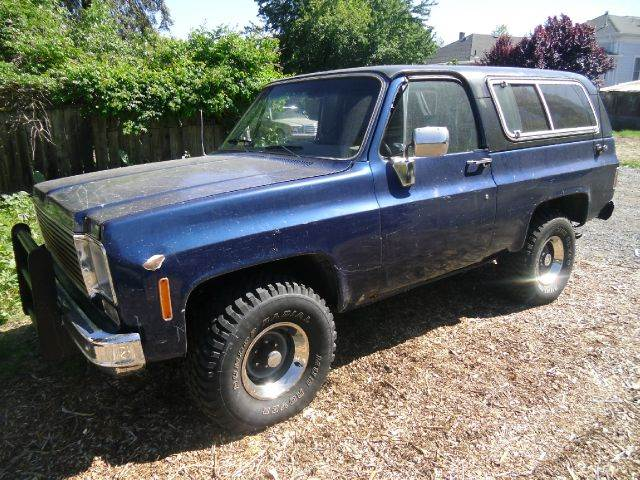 1975 Chevrolet Blazer for sale at Crow`s Auto Sales in San Jose CA