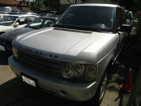 2003 Land Rover Range Rover for sale at Crow`s Auto Sales in San Jose CA