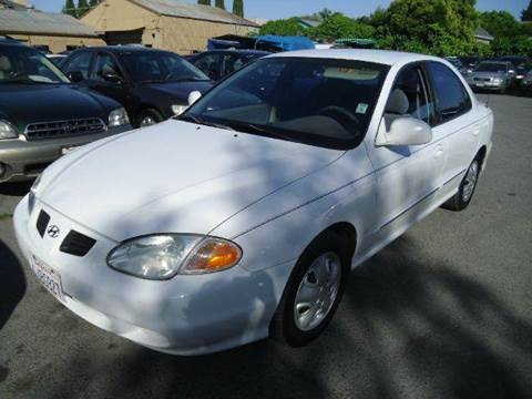 2000 Hyundai Elantra for sale at Crow`s Auto Sales in San Jose CA