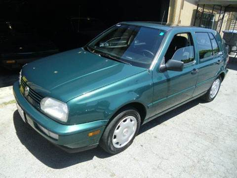 1997 Volkswagen Golf for sale at Crow`s Auto Sales in San Jose CA