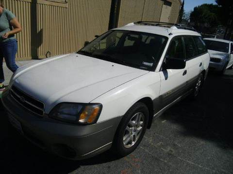 2000 Subaru Outback for sale at Crow`s Auto Sales in San Jose CA