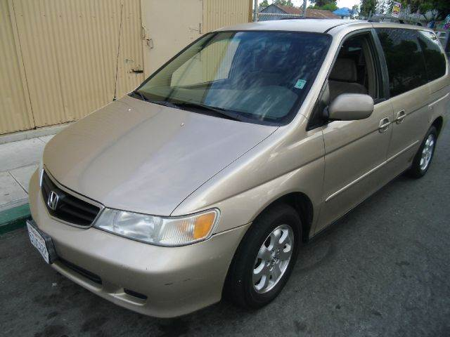 2002 HONDA ODYSSEY EX 4DR MINIVAN gold abs - 4-wheel alloy wheels anti-theft system - alarm ca