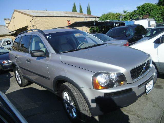 2004 VOLVO XC90 T6 AWD 4DR SUV silver abs - 4-wheel alloy wheels anti-theft system - alarm cd