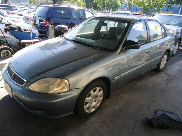 2000 HONDA CIVIC VP 4DR SEDAN blue alloy wheels center console cruise control exterior mirrors