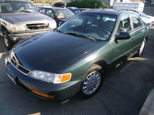 1996 Honda Accord Ex 4dr Sedan In San Jose Ca Crows Auto Sales