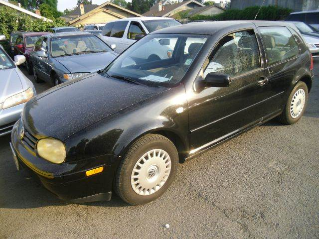 2001 VOLKSWAGEN GOLF GL 2DR HATCHBACK black abs - 4-wheel anti-theft system - alarm cassette c