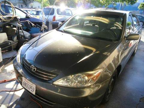 2003 Toyota Camry for sale at Crow`s Auto Sales in San Jose CA