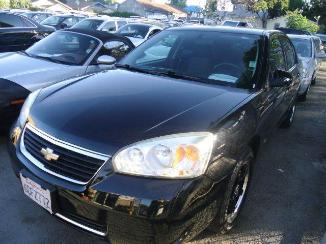 2007 CHEVROLET MALIBU LT 4DR SEDAN black 2-stage unlocking - remote adjustable lumbar support -