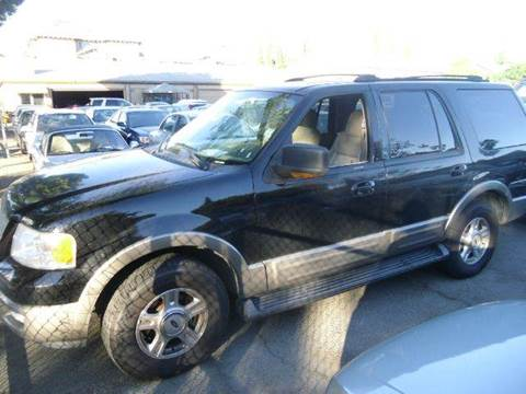 2003 Ford Expedition for sale at Crow`s Auto Sales in San Jose CA