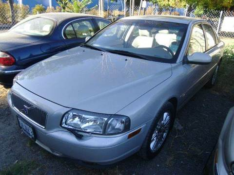 2002 Volvo S80 for sale at Crow`s Auto Sales in San Jose CA