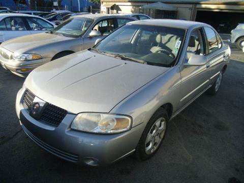 2004 Nissan Sentra for sale at Crow`s Auto Sales in San Jose CA