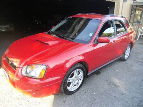 2004 Subaru Impreza for sale at Crow`s Auto Sales in San Jose CA