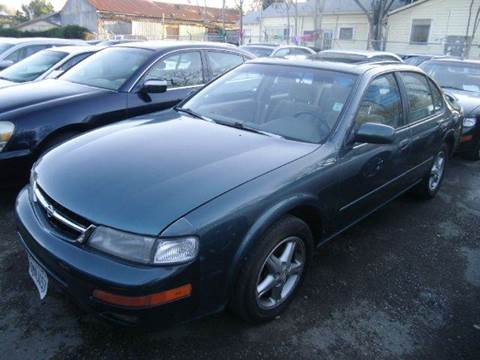 1997 Nissan Maxima for sale at Crow`s Auto Sales in San Jose CA