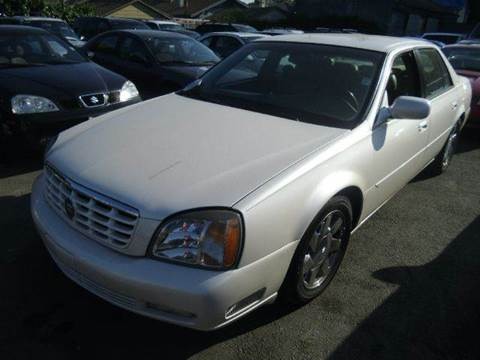 2000 Cadillac DeVille for sale at Crow`s Auto Sales in San Jose CA