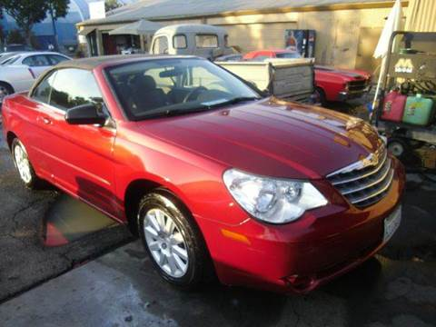 2008 Chrysler Sebring for sale at Crow`s Auto Sales in San Jose CA