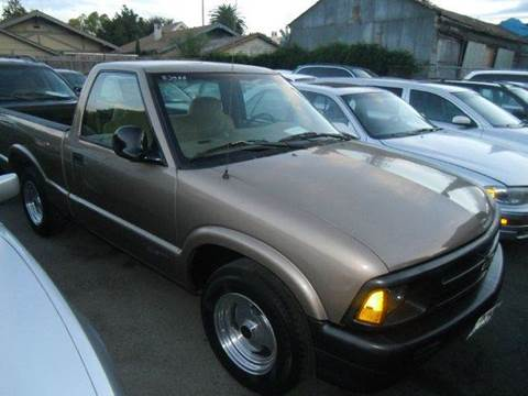 1996 Chevrolet S-10 for sale at Crow`s Auto Sales in San Jose CA