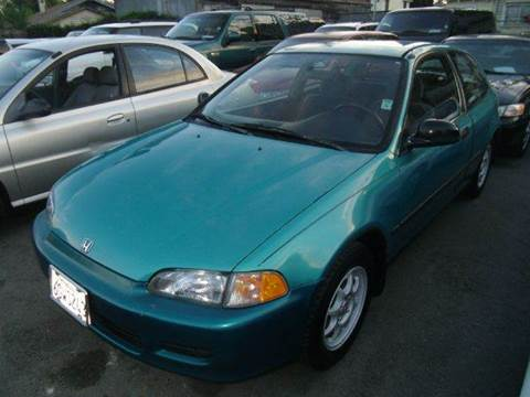 1993 Honda Civic for sale at Crow`s Auto Sales in San Jose CA
